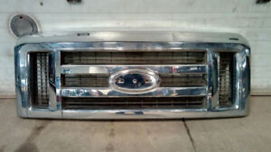 2008-2017 FORD E-150 - 450 CHROME GRILLE