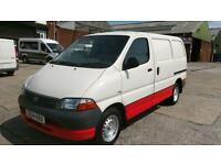 2004 04 TOYOTA HI-ACE 2.5 280 GS SWB 1D 88 BHP NO VAT TO ADD DIESEL