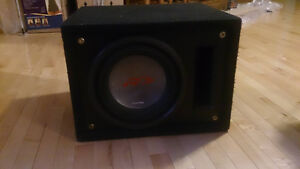 Amplificateur Kenwood KAC-8104D et Subwoofer Alpine Type-R 10""