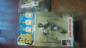 Hanson brothers from the movie slapshot mcfarlane figures