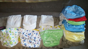 Bamboo cloth Giggle Life washable diapers