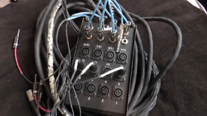 Stage Snake - XLR/Quarter Inch Combo London Ontario image 1
