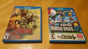 Nintendo Wii U Games ($40 each)