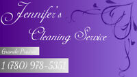 Jennifer's Cleaning Service first hour free for new clients