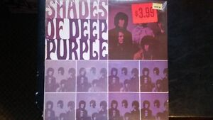 Deep Purple record collection.
