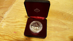 1979 Canadian Proof Silver Dollar Coin