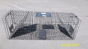 Outdoor Cage Trap for Rodents, Cats, Magpies, etc.