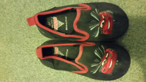 LIGHTNING MCQUEEN SLIPON SHOES-SIZE 9
