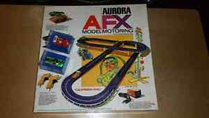 Rare 1970-71 AFX Aurora Model Motoring Slot Car Set