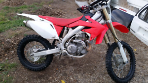 2011 Honda CRF450X Electric start Xmas deal!