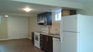 Newly built, clean, one bedroom apartment downtown Bathurst