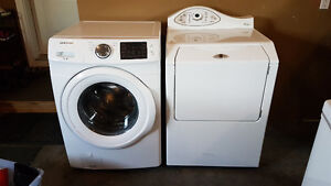 Samsung front load washer Maytag dryer