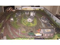Model railway layout OO gauge digital