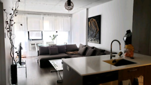 3 1/2 Condo Rent in Old Port / Griffintown Montreal June 2019