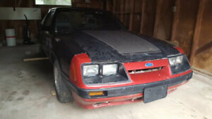 Foxbody mustang project for sale