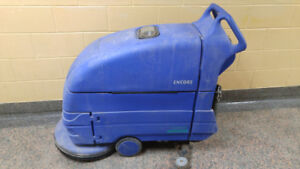 Auto Scrubber floor cleaner with new batteries. Clarke.
