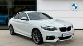 image for 2017 BMW 2 Series 220i M Sport 2dr [Nav] Step Auto Petrol Coupe Coupe Petrol Aut