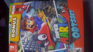 *New sealed*Super Mario Odyssey with bound tablets guide for ssb