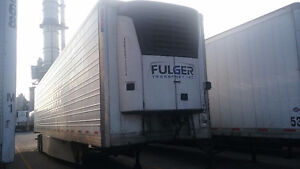 2009 UTILITY 53' TANDEM REEFER HIGH CUBE VAN