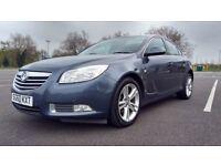 Vauxhall Insignia 2.0CDTI SRI Good / Bad Credit Car Finance (blue) 2010