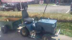 Lawn tractor and utility cart Cambridge Kitchener Area image 2
