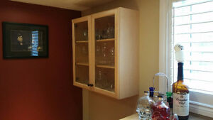 Beautiful glass cabinet for sale Cambridge Kitchener Area image 2