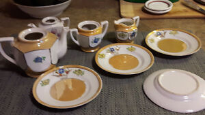 Antique kids tea set