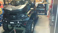 yamaha grizzly tout equipe