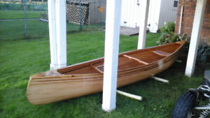 NEW HANDCRAFTED 16' CANOE -  A WORK OF ART!
