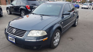 2004 VW PASSAT- GL- WITH MAINTENANCE RECORDS  FROM VW