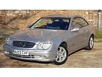 2003 Mercedes-Benz CLK 1.8 CLK200 Kompressor Avantgarde 2dr