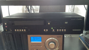 MAGNAVOX DV220MW9 DVD Player VCR Combo with remote