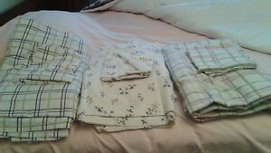 QUEEN BED COTTON SHEETS (USED)