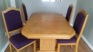 Dinning table set (6chairs) Peterborough Peterborough Area image 1
