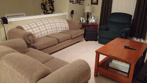 Sofa, Loveseat + Recliner Windsor Region Ontario image 1