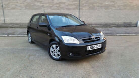 2005 55 Toyota Corolla 1.6 VVT-i Colour Collection 5dr +++ONLY 30000 MILES+++