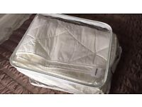 Luxury king size mattress protector