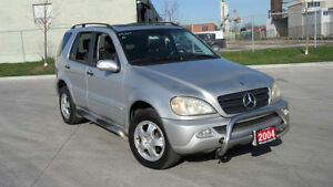 2004 Mercedes-Benz ML 350, AWD, Leather, 3 years warranty availa