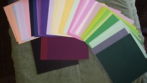 Cardstock and scrapbook pages