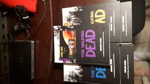 The walking dead graphic novels hardcover 1-5