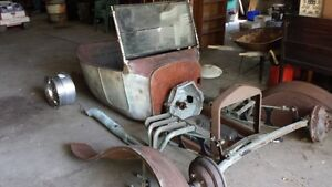 1927 Ford T bucket project
