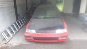 1991 Honda Civic Coupe (2 door)