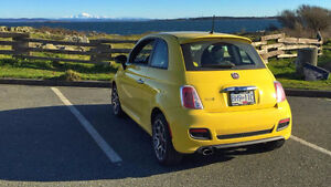 2012 Fiat 500 Sport Hatchback 5 speed manual