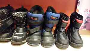 Boys boots some never worn all very warm Belleville Belleville Area image 2