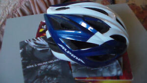Alpina Bike & Inline Helmet - Blue & White Vector CE EN1078
