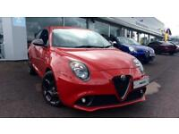 2017 Alfa Romeo MiTo 1.4 TB MultiAir 170 Veloce 3dr Automatic Petrol Hatchback