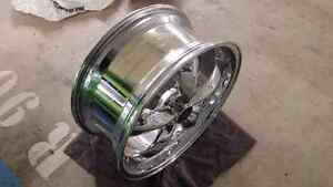 2005-2014 Mustang 5 spoke chrome wheel Downtown-West End Greater Vancouver Area image 2