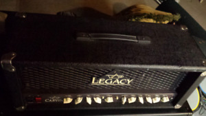 Steve Vai's Carvin Legacy with Ibanez cab