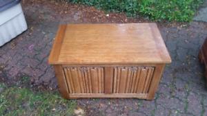 Tudor chest, old