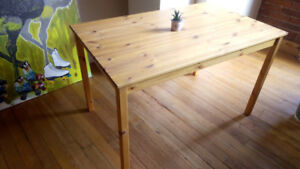 Solid Wood Office Desk / Dining Table - Price Reduced!